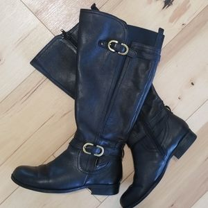 Naturaliser leather boots, size 6,5W